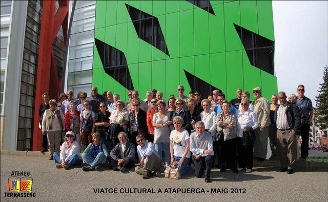 Imatge dels participants de la sortida cultural